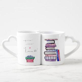 Sie sind geliebtes Tassen-Set Liebestassen