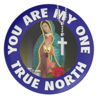 Sie sind mein ein rechtweisend Nord Teller