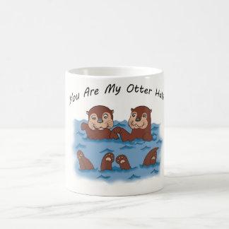 Sie sind mein halber Otter Kaffeetasse