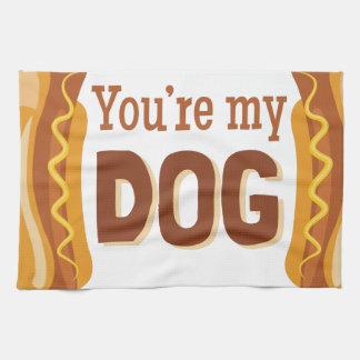 Sie sind mein Hund Geschirrtuch