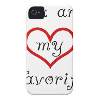Sie sind mein Liebling iPhone 4 Hülle