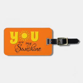 Sie sind mein Sonnenschein Kofferanhänger