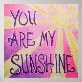 Sie sind mein Sonnenschein Poster