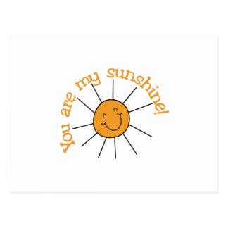Sie sind mein Sonnenschein Postkarten