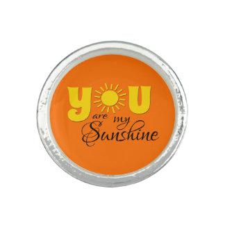 Sie sind mein Sonnenschein Ring