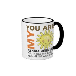 Sie sind mein Sonnenschein Ringer Tasse