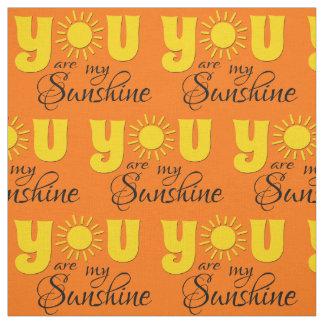 Sie sind mein Sonnenschein Stoff