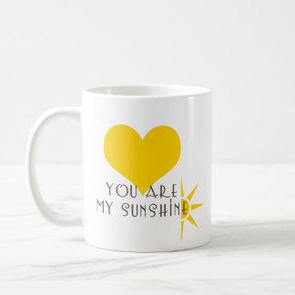Sie sind mein Sonnenschein Tasse