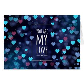 Sie sind meine Liebe, Valentine Karte