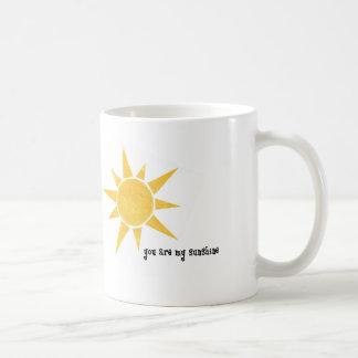 Sie sind meine Sonnenschein-Tasse Tasse