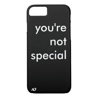 """""""Sie sind nicht spezieller"""" Fall iPhone 8/7 Hülle"""