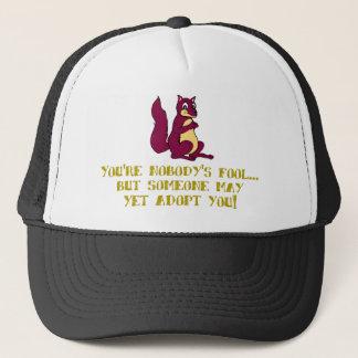 Sie sind niemanden Dummkopf… Truckerkappe