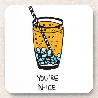 Sie sind Nizza Getränkeuntersetzer