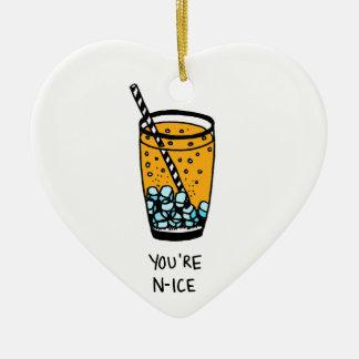 Sie sind Nizza Keramik Ornament