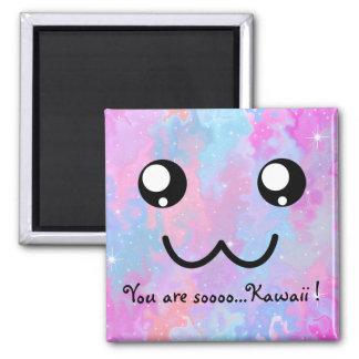 Sie sind so Kawaii magisches niedliches Quadratischer Magnet