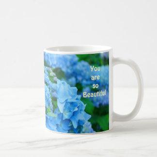 Sie sind so schön! Kaffee-TassenHydrangea mit Blum Tasse