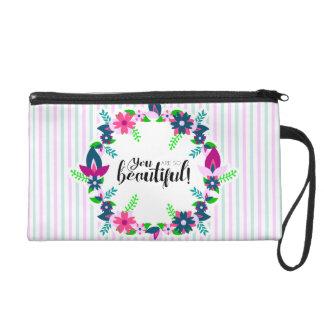 Sie sind so schön! wristlet handtasche