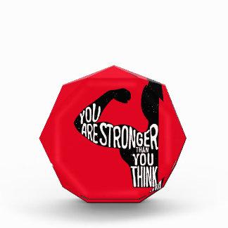 Sie sind stärker, als Sie denken Auszeichnung
