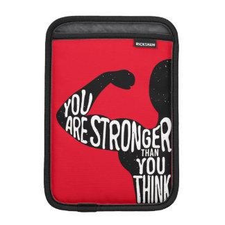 Sie sind stärker, als Sie denken iPad Mini Sleeve