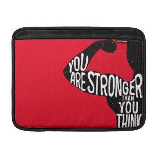 Sie sind stärker, als Sie denken MacBook Air Sleeve