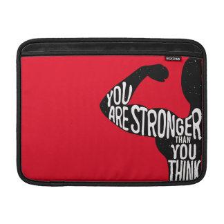 Sie sind stärker, als Sie denken Sleeve Fürs MacBook Air