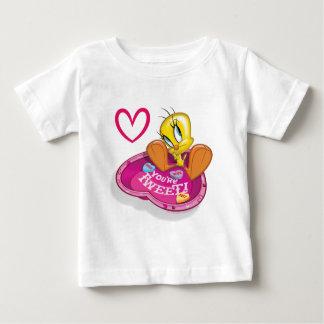 Sie sind tweeten Tweety Schüssel Baby T-shirt