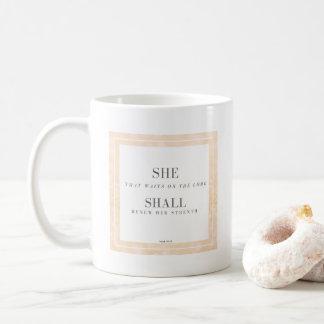 SIE SOLL Tassen-Jesaja-40:31 Kaffeetasse