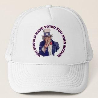 Sie sollten für John McCain gewählt haben Truckerkappe