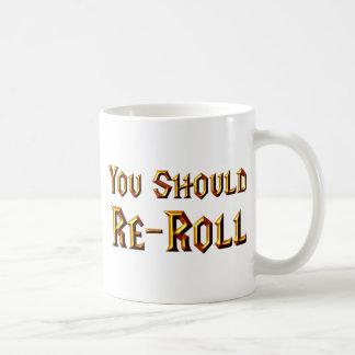 Sie sollten umspulen kaffeetasse