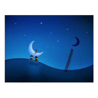 Sie stahlen den Mond (Version 2008) Postkarte
