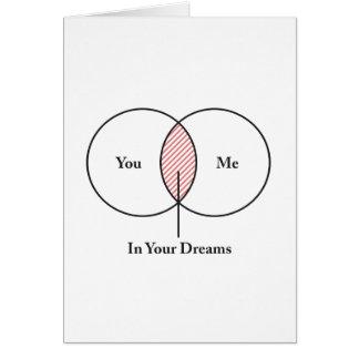 Sie und ich in Ihrem Träume Venn Diagramm Karte