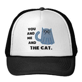 Sie und ich und die Katze Trucker Cap