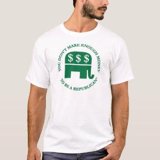 Sie verdienen nicht genügend Geld, um ein T-Shirt