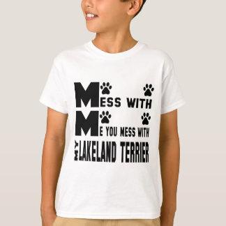 Sie verwirren mit meinem Lakeland Terrier T-Shirt