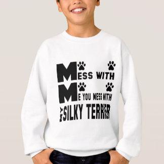 Sie verwirren mit meinem seidigen Terrier Sweatshirt