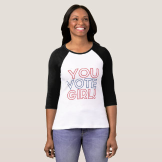 Sie wählen Mädchen-Jersey-Shirt T-Shirt