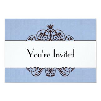 Sie werden eingeladen 8,9 x 12,7 cm einladungskarte