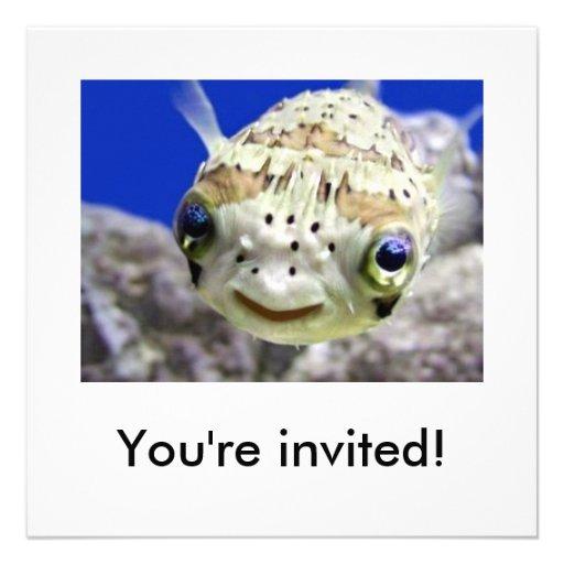 Sie werden eingeladen! personalisierte ankündigungskarte