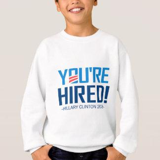 Sie werden eingestellt sweatshirt