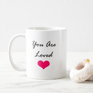 Sie werden geliebt… So… Kann ich 50 Dollars haben? Kaffeetasse