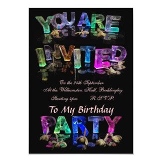 Sie werden zu einem Party eingeladen 12,7 X 17,8 Cm Einladungskarte