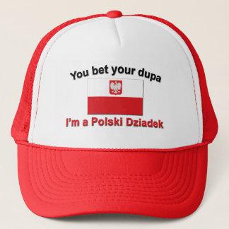 Sie wetten Ihr dupa, das ich Polski Dziadek bin Truckerkappe
