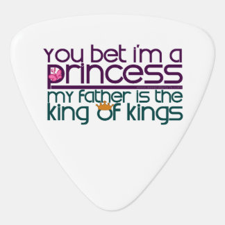 Sie wetteten, dass ich eine Prinzessin bin Plektrum