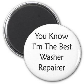 Sie wissen dass ich der beste Waschmaschinen-Repa Magnete