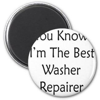 Sie wissen, dass ich der beste Waschmaschinen-Repa Runder Magnet 5,7 Cm