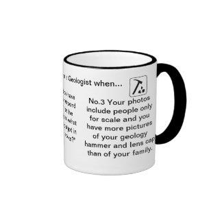 Sie wissen, dass Sie ein Geologe wenn… sind Teetassen