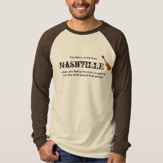 Sie wissen, dass Sie von Nashville sind T-Shirt