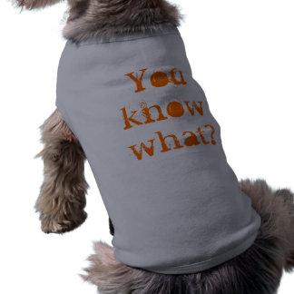 Sie wissen, was? shirt