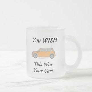 Sie WÜNSCHEN, dass dieses Ihr Auto war! Mattglastasse
