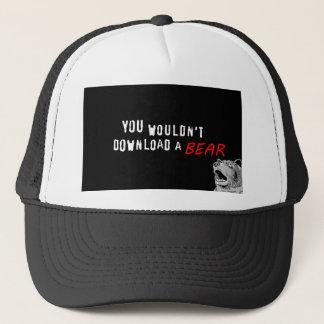 Sie würden nicht einen Bären - GeekShirts Truckerkappe